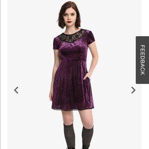 Nightmare before Christmas velvet dress